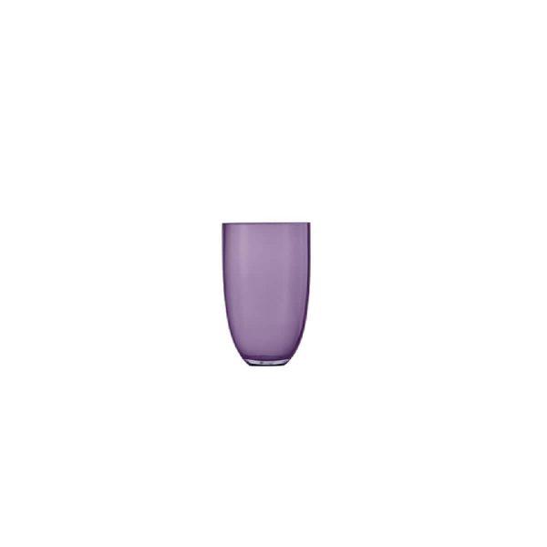 Florero transparente ./violeta LOOM 305mm