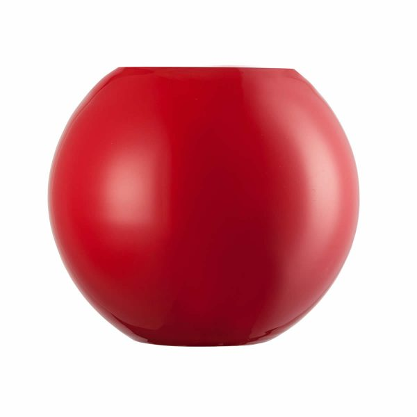 Florero rojo O DOMO 175mm